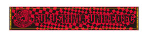 タオルマフラー(赤×黒チェック)